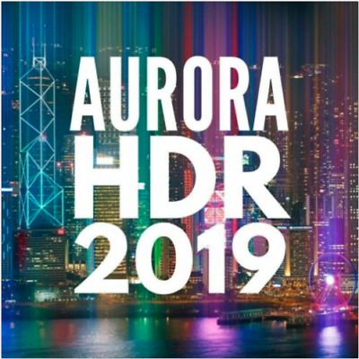 Aurora HDR 2019 | Official Version | For PC Lifetime License • 4£