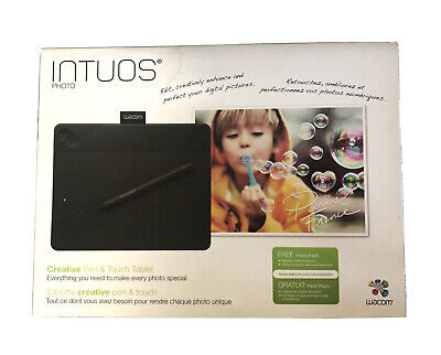 Intuos Photo Creative Pen & Touch Tablet - Boxed • 59.99£