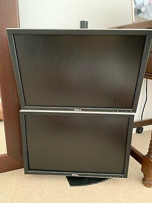 Dell Monitors X2 With Mounting Poll • 2£
