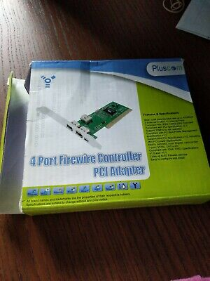 4 Port Firewire Controller Pci Adapter - Good Condition - E.g. For Camcorder • 9.77£