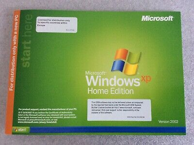 Windows XP 2002 Home Edition Full Version With Product Key • 9.99£