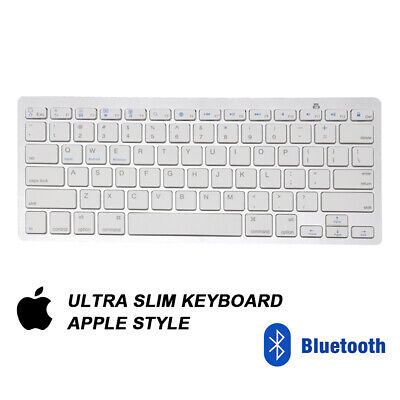 NEW Slim Wireless Bluetooth Keyboard For Apple IMac IPadAndroid Phone Tablet  UK • 8.99£