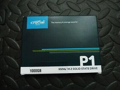 Crucial CT1000P1SSD8 Solid State Drive 1TB P1 SSD M.2 1TB • 100£