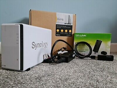 Synology Diskstation DS215j With WiFi Adapter • 80£