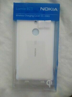 Genuine Nokia Cc-3065 Wireless Charging Shell Cover Case For Lumia 925 | White • 7.80£