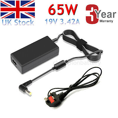 For ASUS X555L 65W LAPTOP AC ADAPTER CHARGER POWER SUPPLY UK  • 9.99£