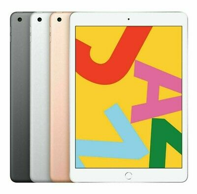 New Apple IPad 2019 (7th Generation) 10.2  WiFi 32G / 128GB-All Color- UK Seller • 409.99£