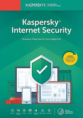 Kaspersky Internet Security 2019 1PC / Device 1 Year - Upgrade To 2020 • 4.80£