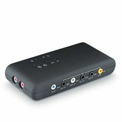 CSL - USB 7.1 External Sound Card 8-channel - 7.1 Channel USB Soundbox - Dynamic • 30£