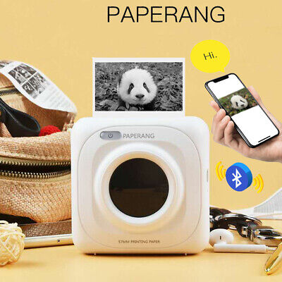 PAPERANG Mini Printer Mobile Phone Instant Thermal Bluetooth Photo Receipt Paper • 37.90£
