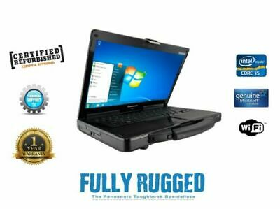 Build Your Own Spec Panasonic Toughbook CF-53 Mk3 I5 Win 7 Or 10 • 349.99£