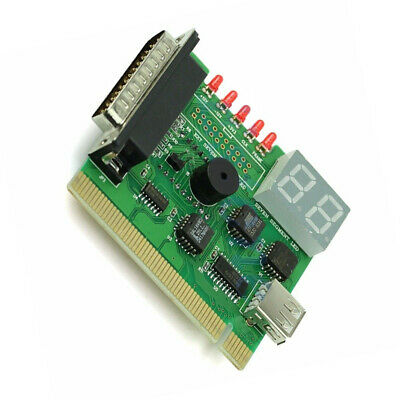 Display PCI PC Motherboard With Light Analyzer Diagnostic Card Tester Post USB • 8.31£