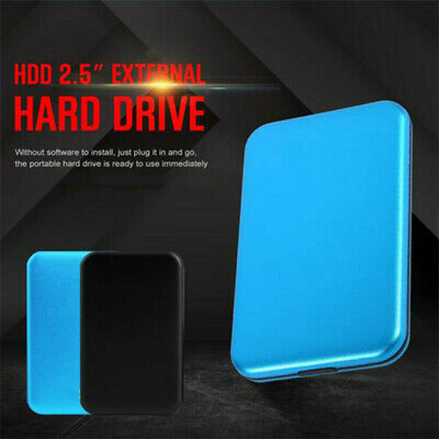 Portable USB 3.0 1TB External Hard Drive Disk Storage HDD 2.5'' For PC Laptop UK • 24.79£