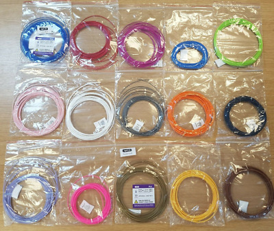 3d Print Filament Samples 3d Pen 1.75mm 2.85mm 3mm • 6£