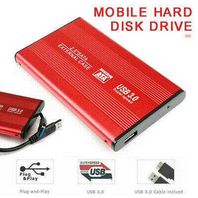 USB 3.0 2TB External Hard Drive Disk HDD 2.5'' Suit For PC Windows Portable Jk • 23.99£