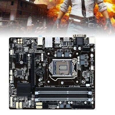 GA-B85-DS3H 1150 Intel B85 Motherboard DDR3 For Windows PC Desktop Computers • 44.89£