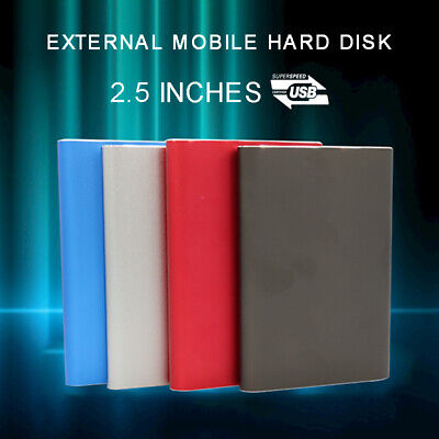 2TB USB 3.0 External Hard Drive Disks HDD 2.5'' Fit For PC Laptop Computer • 23.95£