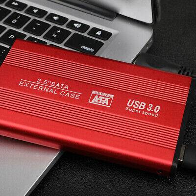 External HDD Hard Drive USB 3.0 500GBS 1TB 2TB PORTABLE For PC MAC PS4 UK • 23.99£