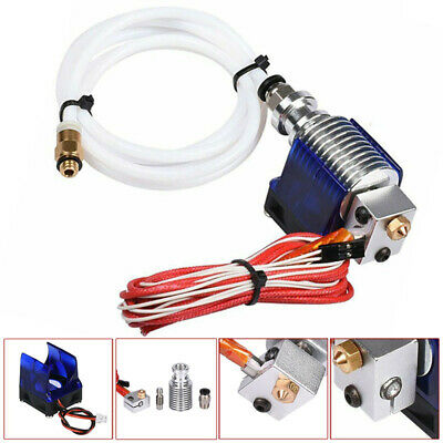 3D Printer V6 J- Head Hotend 1.75mm Filament Bowden Extruder Nozzle 0.4mm UK • 7.65£