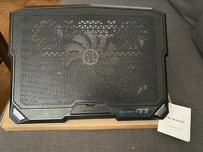 Notebook Laptop Cooler Cooling Pad Stand USB Powered 5 Fans New • 6.50£