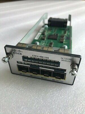 Cisco C3KX-NM-10G Network Module - Good Condition !! • 149.99£
