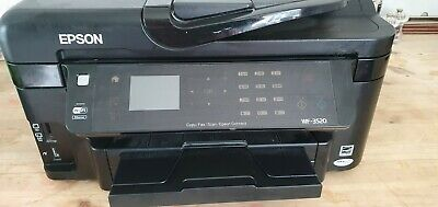 Epson Printer WF - 3520 Used, Been Stored, Now  No Longer Needed. • 0.99£