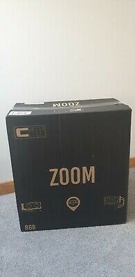 CiT Zoom Gaming ATX Mid-Tower PC Computer Case - Black - New Unused.  • 10£