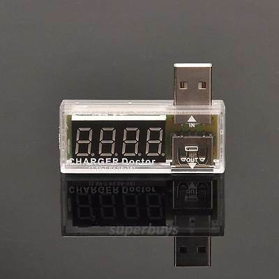 Voltage Current Detector USB Charger Doctor Mobile Tester Meter Power Output WH • 6.62£