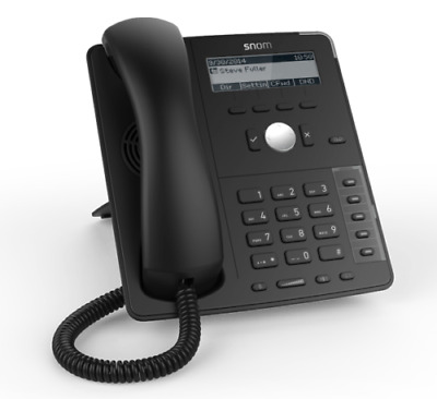 Snom D715 Gigabit VoIP Phone - POE - 6 Months Warranty - Inc VAT And Delivery • 44.99£