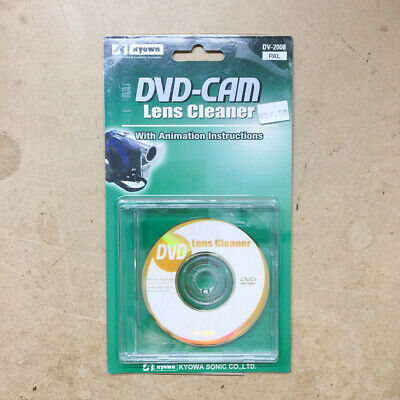 DVD-CAM Lens Cleaner DV-2008 PAL With Animation Instructions • 10.86£