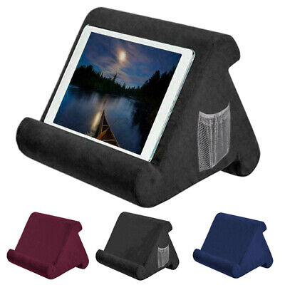 Multi-Angle Soft Pillow Lap Stand For IPad Tablet Cushion Phone Laptop Holder UK • 7.65£