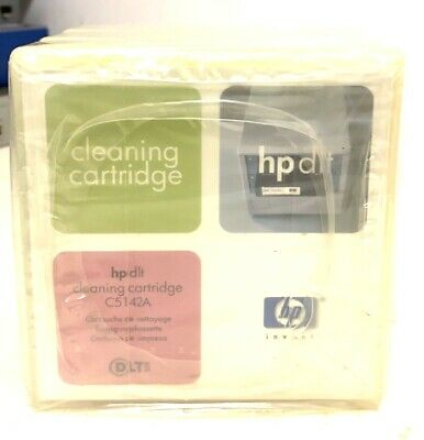 X3 HP DLT Cleaning Cartridges C5142A Brand New • 29.99£