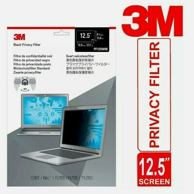 3M Privacy Filter For 12.5  Laptop Widescreen Thin & Touch Sensitive Matte • 19.99£