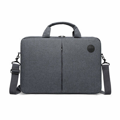Laptop Shoulder Bag 11.6 - 15.6 Inch Padded Carry Case Notebook Sleeve Grey • 14.99£