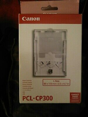 Canon PCL-CP300 Large Paper Cassette.no Paper Included.Selphy. • 4£