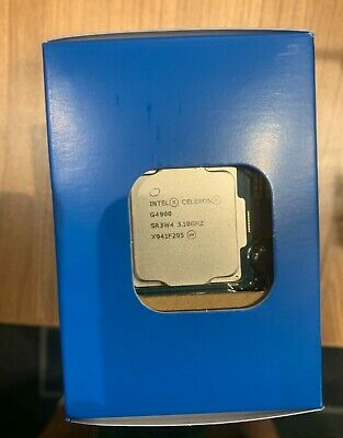 Intel Celeron G4900 CPU / 3.1GHz / 2MB Cache / LGA1151 / Coffee Lake / 8th Gen • 40£