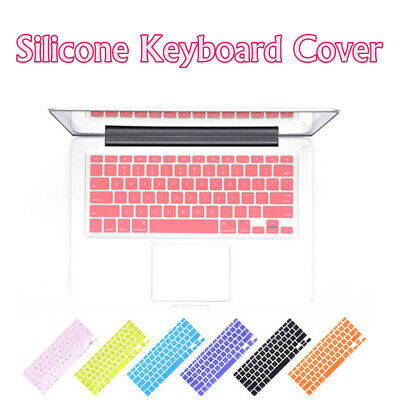 Silicone Keyboard Cover For Apple Macbook Pro Air 13  15  17  (2015 Or Older)* • 3.13£