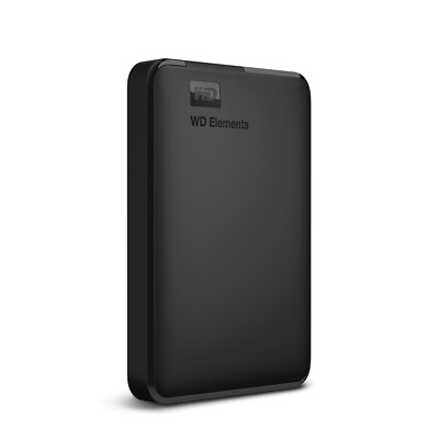 WD 1TB External Hard Drive Elements Portable 3.0  PC, Xbox One, PS4 Western HD • 39.95£