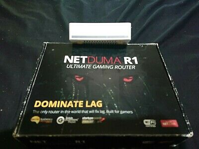 Netduma R1 Ultimate Gaming Router • 59.99£