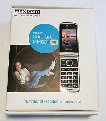 MAXCOM Comfort MM831 3G, UK • 64.90£