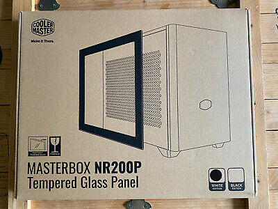 Cooler Master Masterbox NR200P TG (Tempered Glass) Panel Only - White Edition • 44£