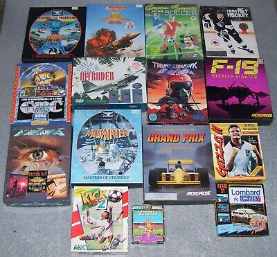 Atari 520 1040 ST STFM STE Computer 40 X BOXED Games TESTED OK • 199.99£