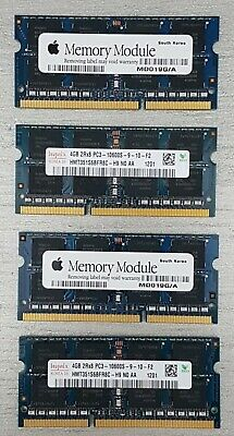 16GB 4X4GB 2Rx8 PC3 10600S MEMORY For 2011 APPLE IMAC 3.4ghz. Apple Top Quality • 49.99£