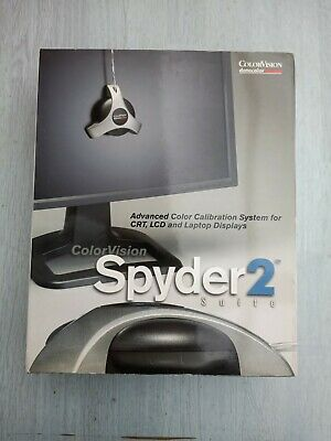 ColorVision Spyder 2 Monitor Calibration • 14£