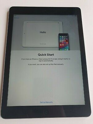 Apple IPad Air - 16GB - Wi-Fi - Excellent Condition - Space Grey - A1474 • 2.20£