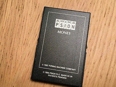 Psion 3a  Money  Software Flash Disc • 13£