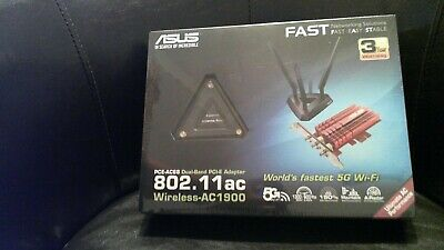 ASUS PCE-AC68 Next Generation Dual-Band Wireless-AC1900 PCIe Adapter, High-Power • 75£