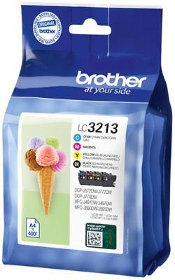 Brother LC-3213 Value-Pack BK/C/M/Y NEW • 80.59£