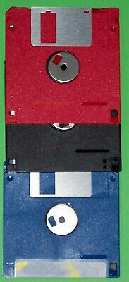 3  Floppy Discs Formatted 1.44mb HD • 0.01£