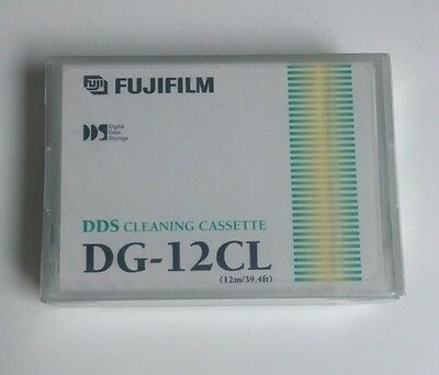 NEW, Sealed  FujiFilm DG-12CL 12m DDS Cleaning Cassette       D4a • 10£